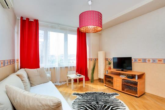 1-комнатная квартира, 37 м<sup>2</sup>, 8 этаж
