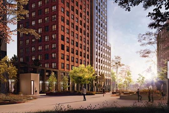 2-комн квартира, 63.69 м<sup>2</sup>, 23 этаж_1