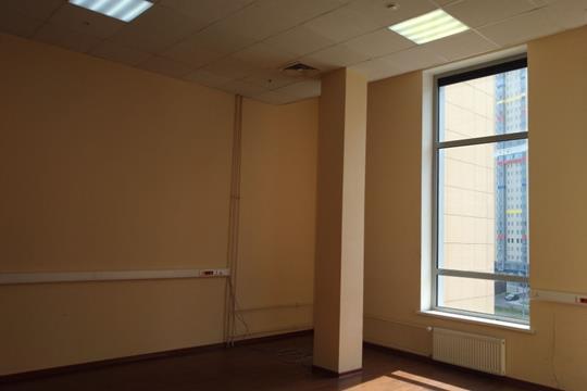 Офис, 57.5 м2, класс B+