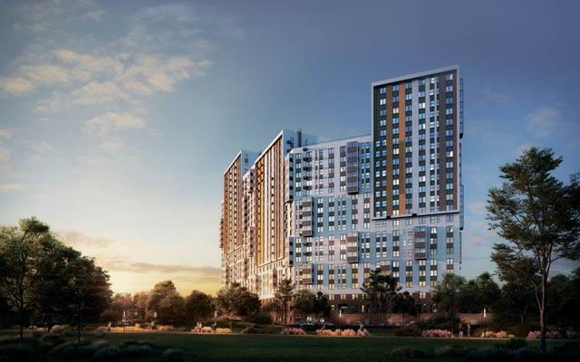 3-комн квартира, 78 м2, 19 этаж - фото 1