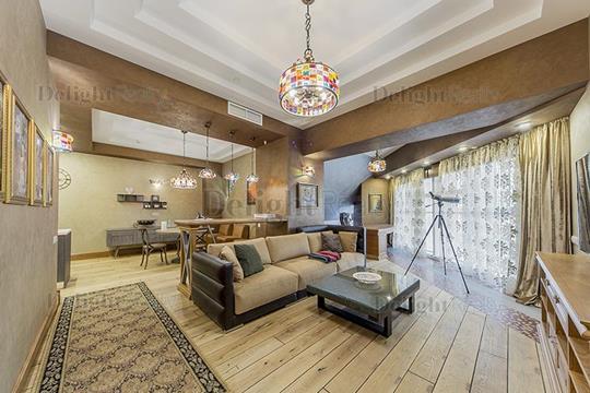 3-комнатная квартира, 108 м2, 43 этаж
