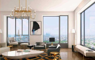 1-комн квартира, 53 м2, 5 этаж