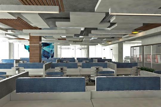 Офис, 84871 м<sup>2</sup>, класс B+