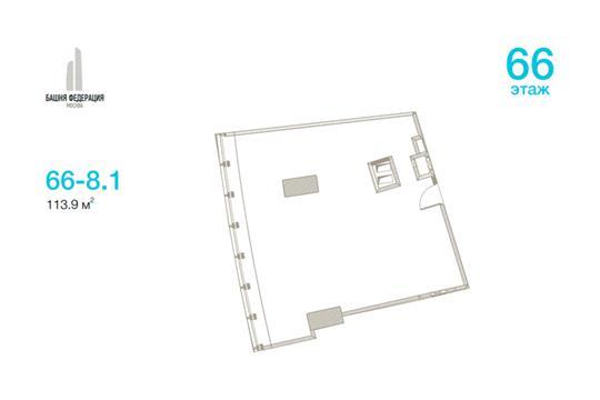 Офис, 113.9 м<sup>2</sup>, класс A+