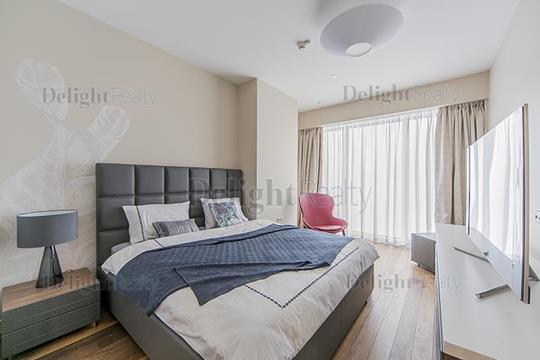 2-комнатная квартира, 91 м2, 52 этаж