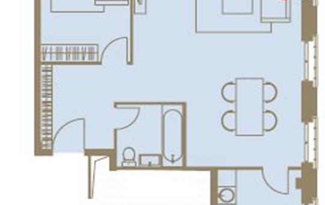 2-комн квартира, 76 м<sup>2</sup>, 4 этаж_1