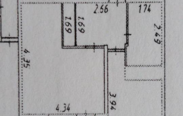 1-комнатная квартира, 34 м<sup>2</sup>, 10 этаж_1