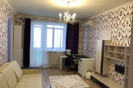 1-комнатная квартира, 40 м<sup>2</sup>, 18 этаж