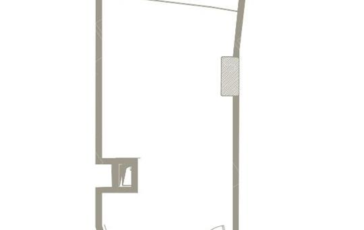 1-комнатная квартира, 49 м<sup>2</sup>,  этаж