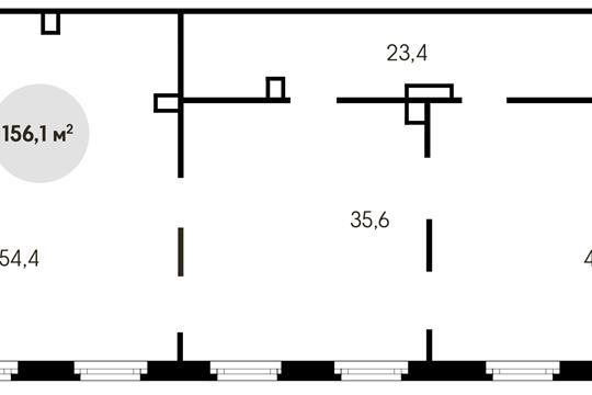 Помещение, 156.1 м<sup>2</sup>