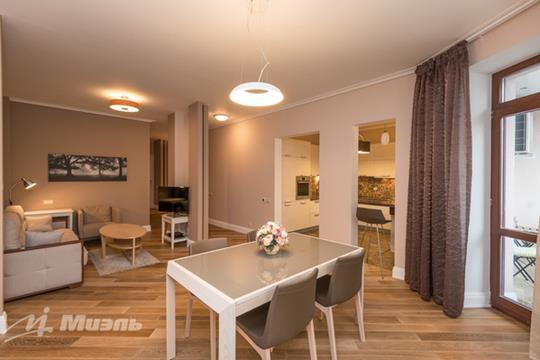 3-комнатная квартира, 128 м<sup>2</sup>, 4 этаж