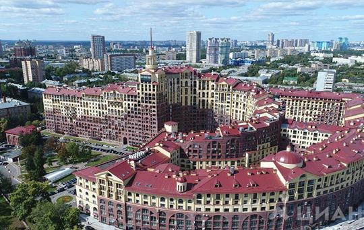 Многокомнатная квартира, 338.24 м<sup>2</sup>, 17 этаж
