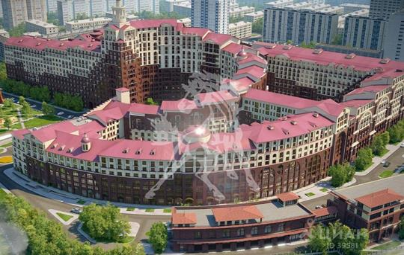 5-комнатная квартира, 287.1 м<sup>2</sup>, 17 этаж