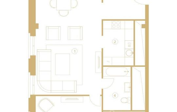 2-комн квартира, 80.5 м<sup>2</sup>, 7 этаж_1