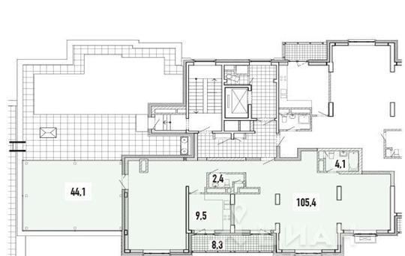 5-комнатная квартира, 177 м<sup>2</sup>, 9 этаж