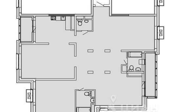 3-комн квартира, 163.4 м<sup>2</sup>, 16 этаж_1