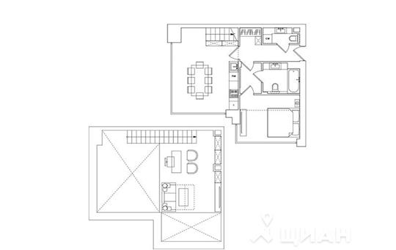 3-комнатная квартира, 71.05 м<sup>2</sup>, 3 этаж