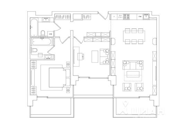 3-комнатная квартира, 108.99 м<sup>2</sup>, 10 этаж