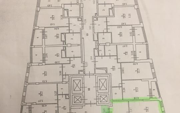 3-комнатная квартира, 79 м<sup>2</sup>, 16 этаж