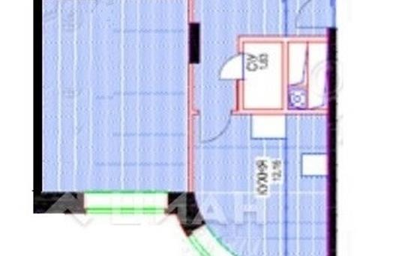 1-комн квартира, 42 м<sup>2</sup>, 20 этаж_1