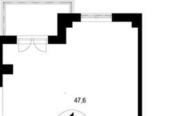 Студия, 56.2 м<sup>2</sup>, 6 этаж