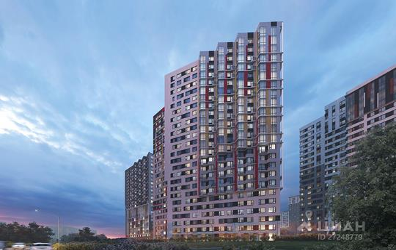 2-комн квартира, 52.8 м<sup>2</sup>, 17 этаж_1