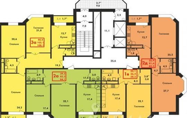 4-комнатная квартира, 139.7 м<sup>2</sup>, 10 этаж