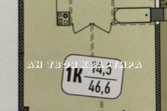 2-комн квартира, 59.4 м2, 10 этаж
