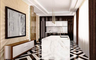 5-комнатная квартира, 415.8 м<sup>2</sup>, 12 этаж