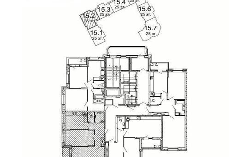 2-комнатная квартира, 62.2 м<sup>2</sup>, 11 этаж