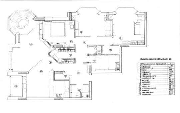 4-комнатная квартира, 164.2 м<sup>2</sup>, 7 этаж
