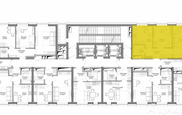 2-комнатная квартира, 52 м<sup>2</sup>, 28 этаж