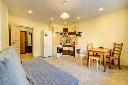 1-комнатная квартира, 41 м<sup>2</sup>, 7 этаж