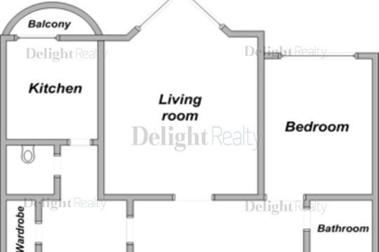 2-комн квартира, 105 м2, 9 этаж