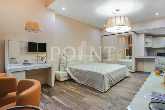 1-комнатная квартира, 55 м2, 64 этаж