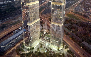 1-комн квартира, 60 м2, 56 этаж - фото 1