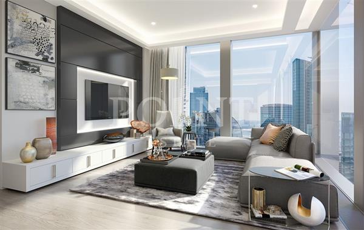 1-комн квартира, 60 м2, 55 этаж - фото 1