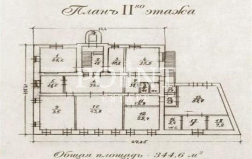 Многокомнатная квартира, 1500 м2, 2 этаж