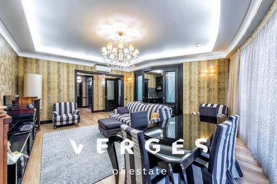3-комнатная квартира, 128 м<sup>2</sup>, 26 этаж