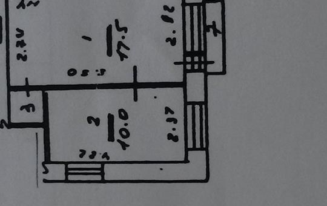 2-комнатная квартира, 40 м<sup>2</sup>, 3 этаж_1