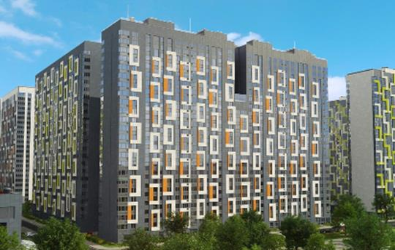 2-комнатная квартира, 64.4 м<sup>2</sup>, 13 этаж