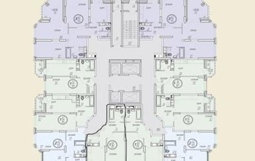 1-комн квартира, 40 м<sup>2</sup>, 3 этаж_1
