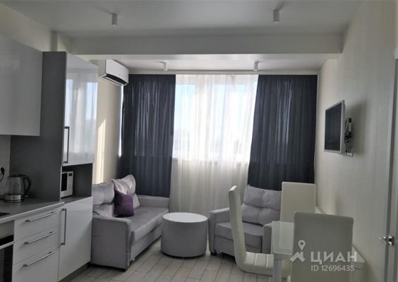 1-комн квартира, 37 м2, 5 этаж - фото 1