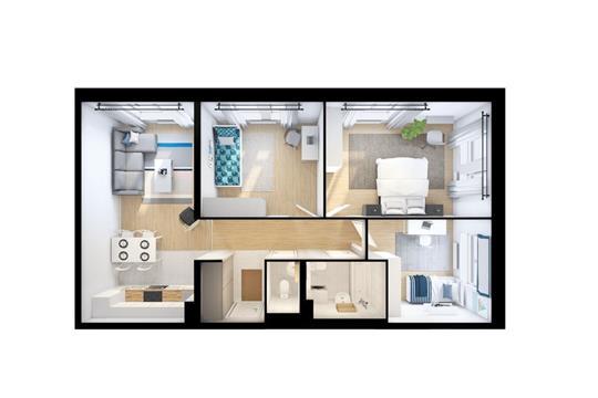 3-комн квартира, 78.6 м<sup>2</sup>, 13 этаж_1