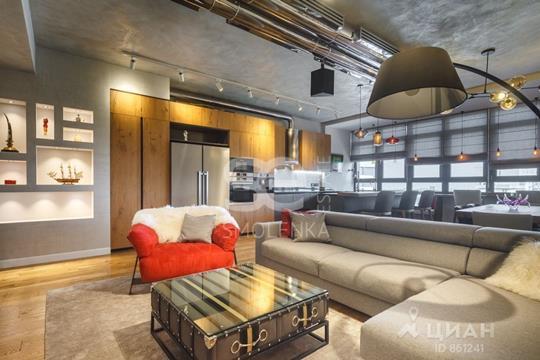 5-комнатная квартира, 169 м<sup>2</sup>, 22 этаж