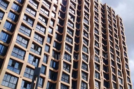 2-комнатная квартира, 82.7 м<sup>2</sup>, 21 этаж