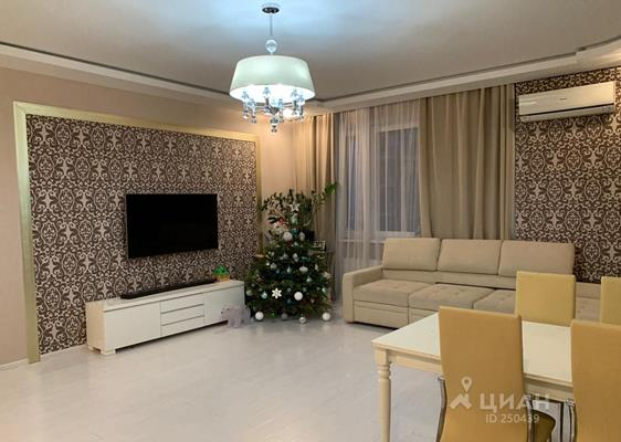 3-комнатная квартира, 90 м<sup>2</sup>, 17 этаж_1