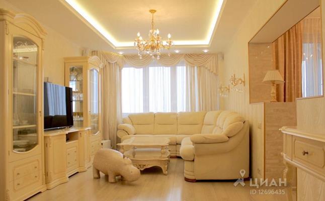 3-комн квартира, 100 м<sup>2</sup>, 22 этаж_1