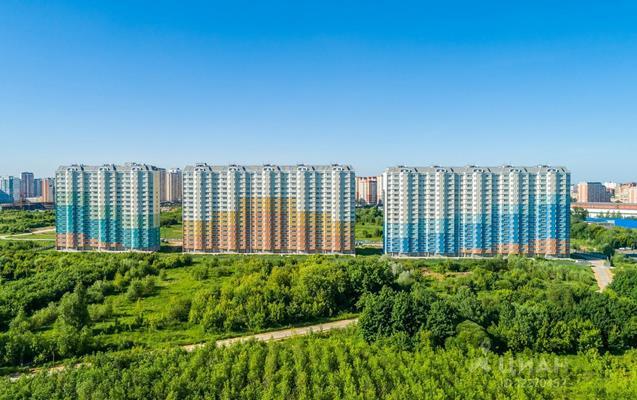 2-комн квартира, 64 м2, 14 этаж - фото 1