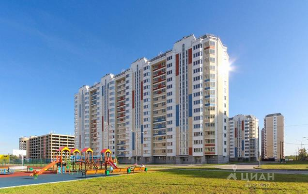 2-комн квартира, 63 м2, 4 этаж - фото 1